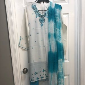 Pakistani 3-piece dress set
